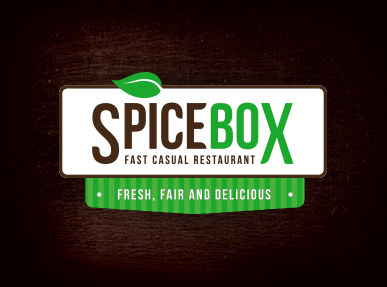 Logotyp a Corporate Identity Design restaurace Spice box